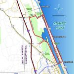 Daytona Beach Map From Ormondscenicloopandtrail 5   Ameliabd   Map Of Daytona Beach Florida