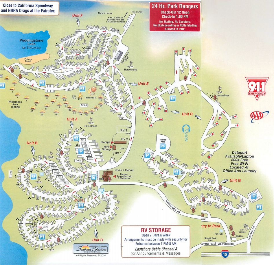 Dcc D Ee Fcefeb California Road Map Map Of Rv Parks In California - Rv Parks California Map