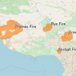 December 2017 Southern California Wildfires   Wikipedia   California Fire Map 2017