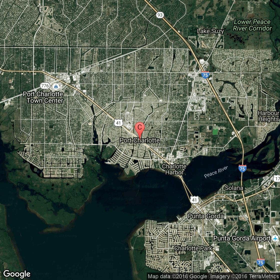 Deep-Sea Fishing In The Port Charlotte, Florida Area | Usa Today - Google Maps Port Charlotte Florida