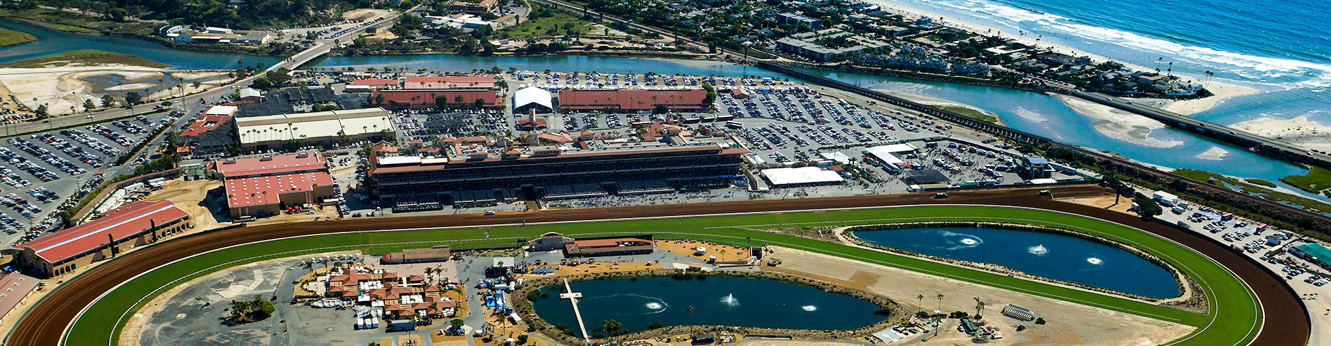 Del Mar Directions And Transportation - Horse Race Tracks In California Map