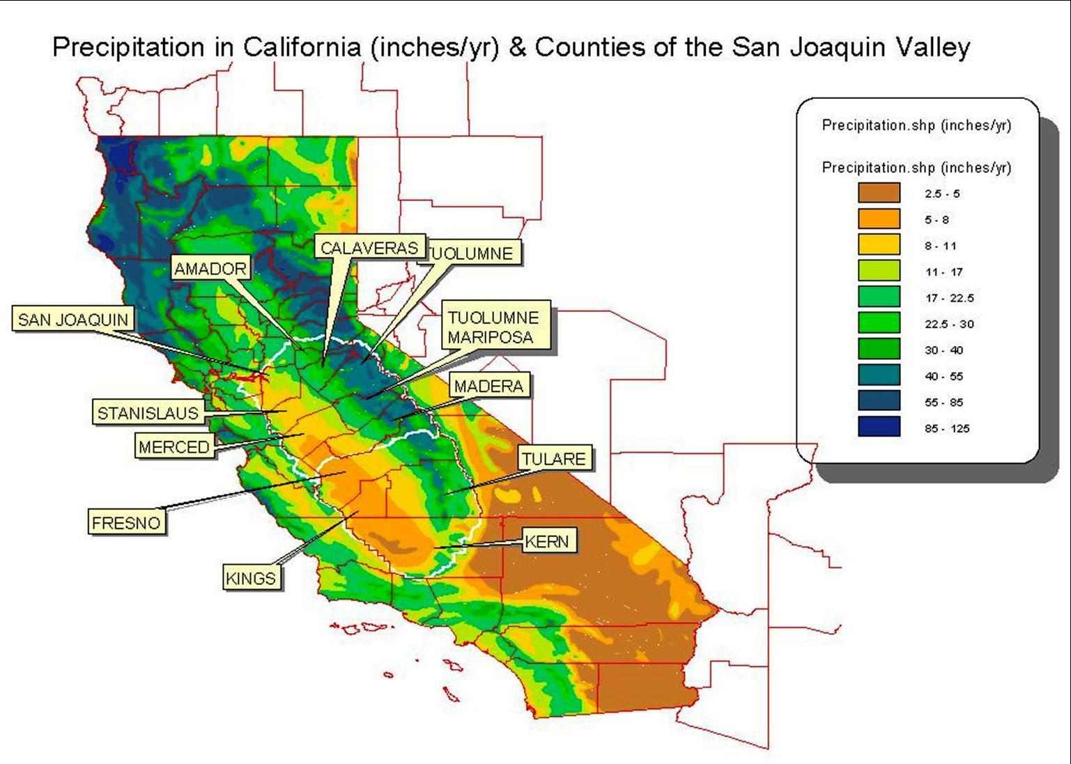 Desert Region Joshua California State Map Map Of California Desert - California Desert Map