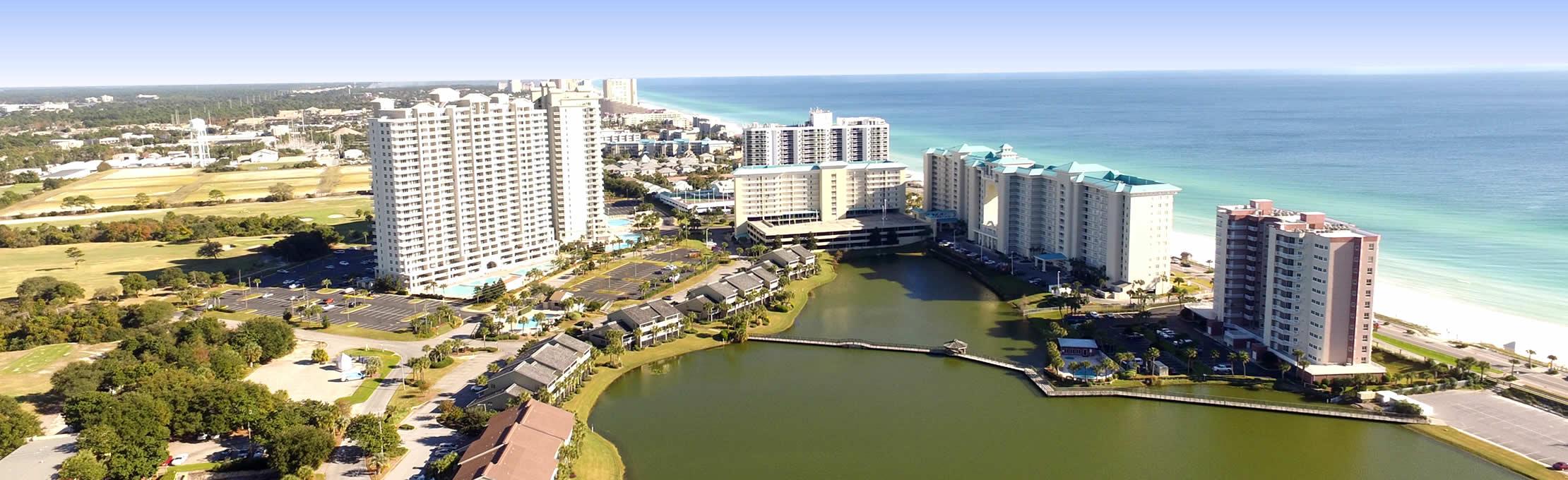 Destin Florida Condo Rentals - Seascape Resort - Seascape Resort Destin Florida Map