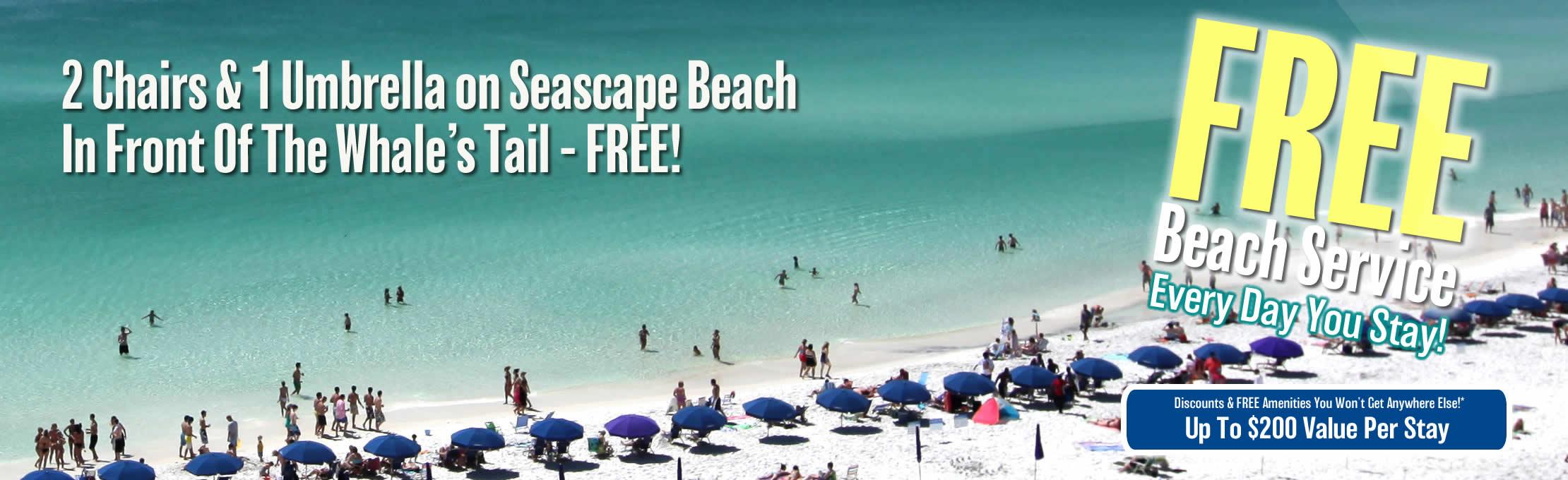 Destin Florida Condos - Seascape Resort - Seascape Resort Destin Florida Map