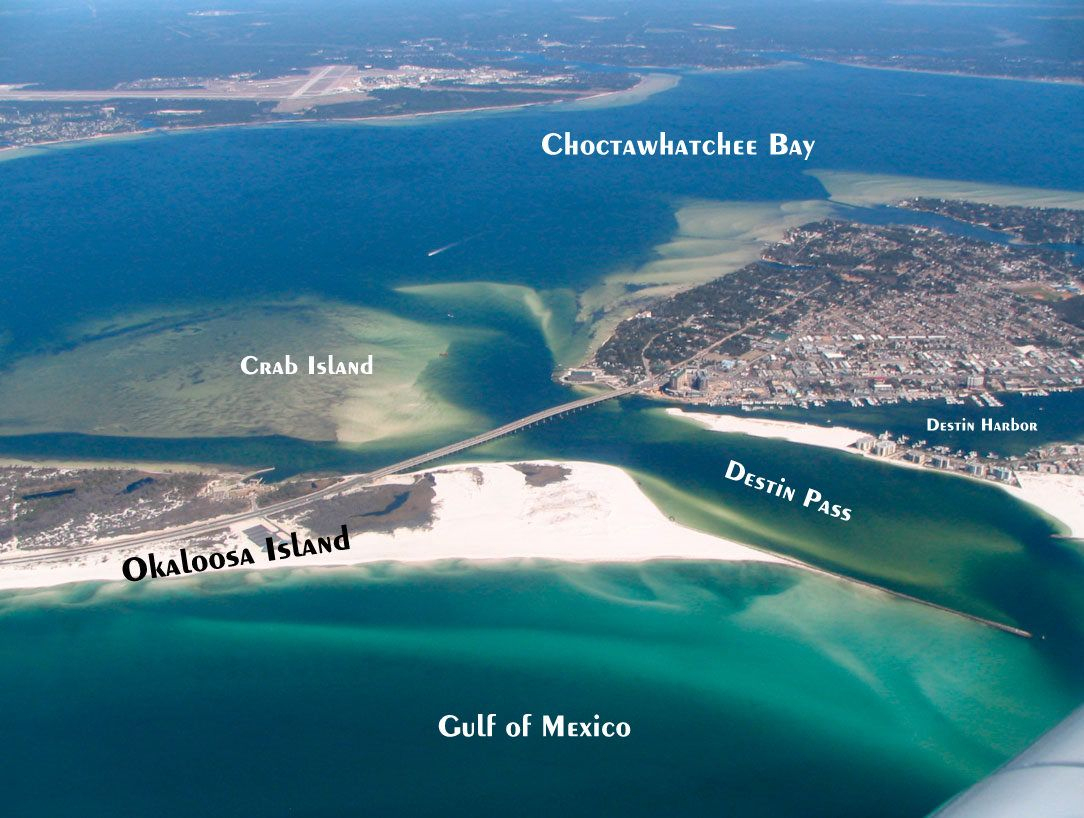 Destin Florida | What To Wear For Photo Sessions - Crab Island Destin Florida Map