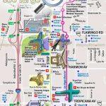 Detailed Road Street Names Plan Favourite Points Interest Boulevard   Printable Map Of Las Vegas Strip 2018