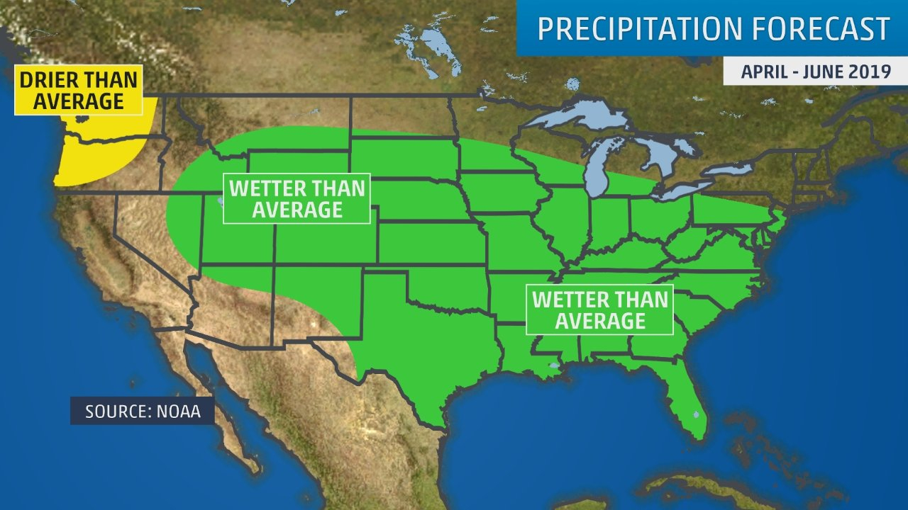 Developing El Niño And California's Upcoming Wet Season May Be Good - Current Weather Map California