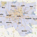 Dfw County Map   Fort Worth County Map (Texas   Usa)   Printable Map Of Dfw Metroplex