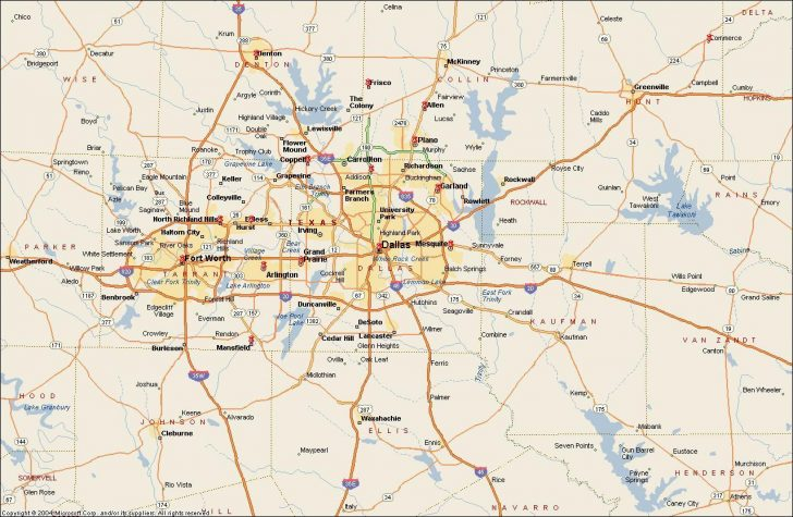 Where Is Fort Worth Texas On A Map