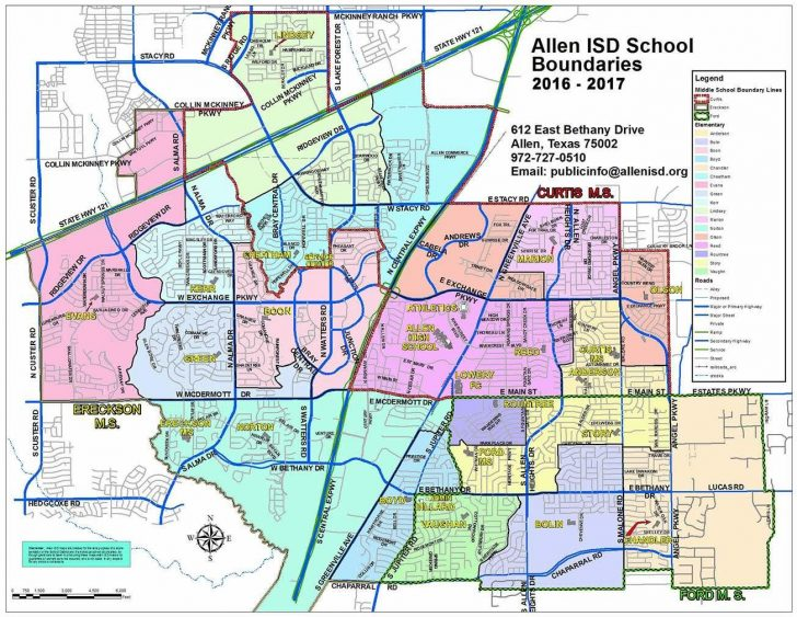Texas School District Map