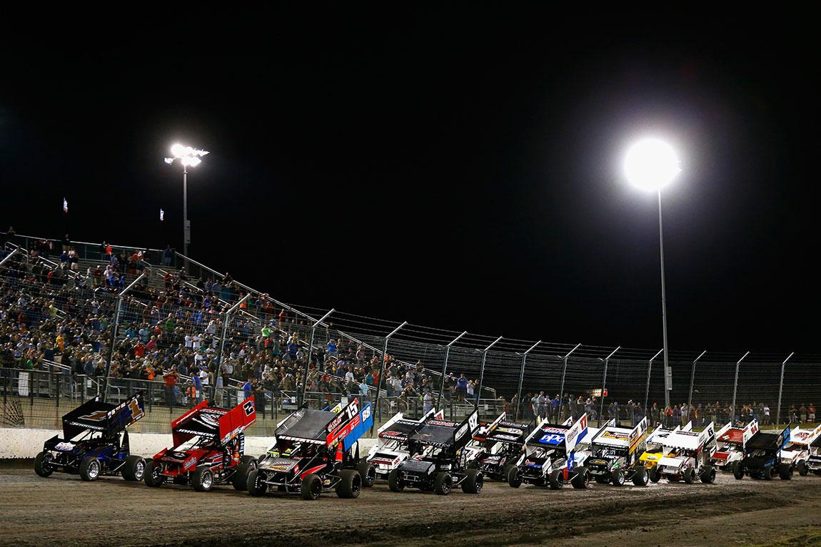 Dirt Track - Texas Motor Speedway Map