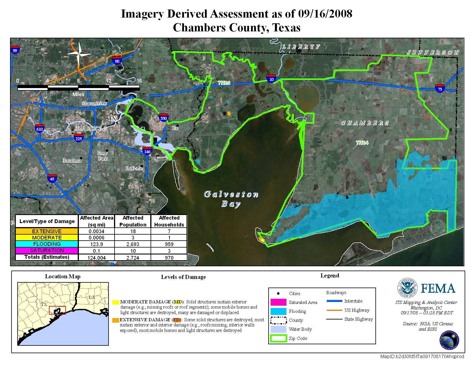 Disaster Relief Operation Map Archives - Chambers County Texas Flood Zone Map