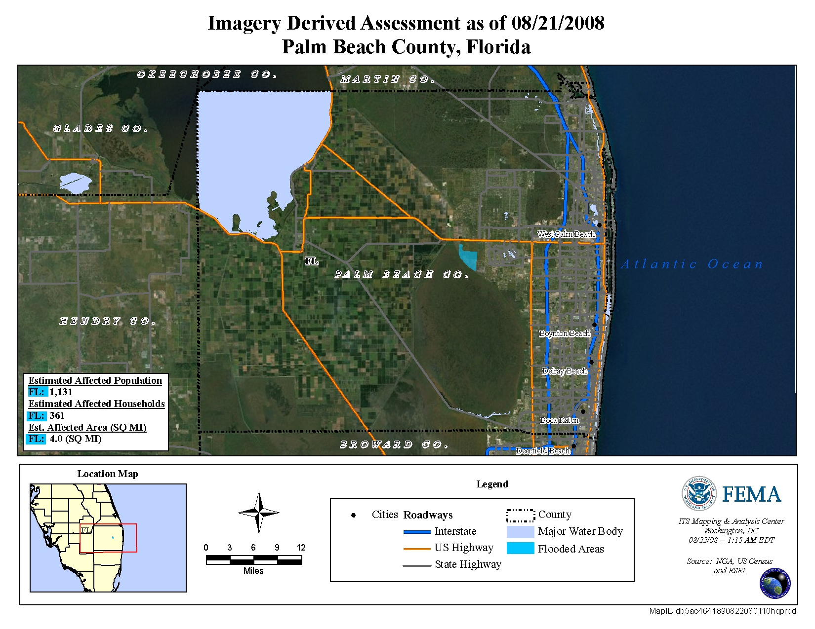 Disaster Relief Operation Map Archives - Flood Maps West Palm Beach Florida