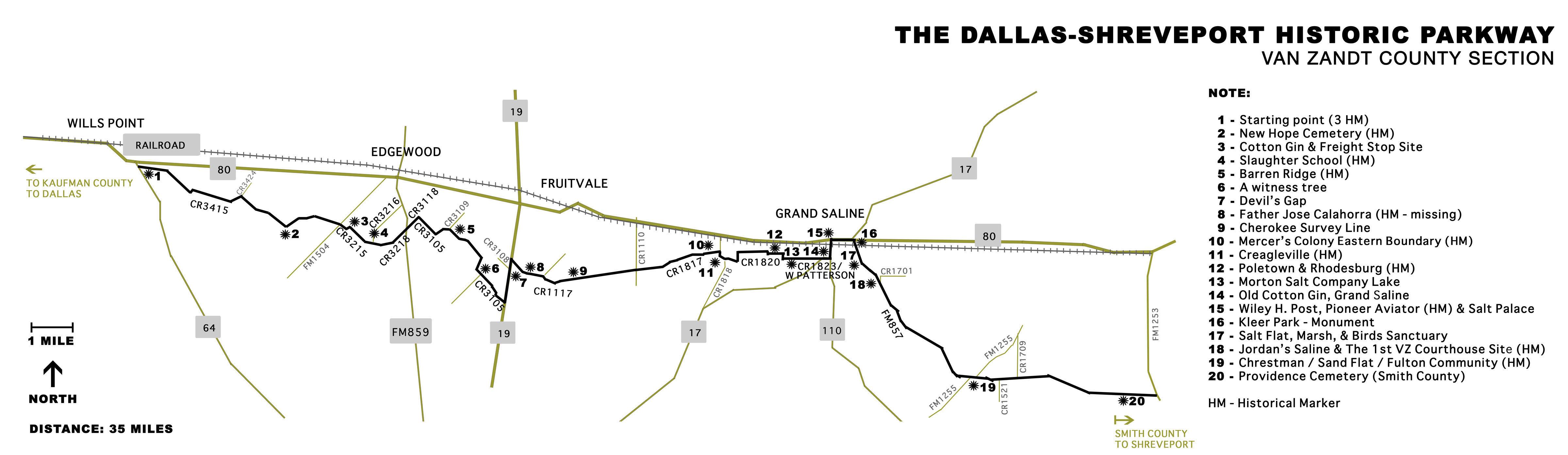 Discover 300 Years Of History In 35 Miles In Van Zandt County, Texas - Van Zandt County Texas Map
