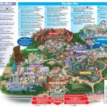 Disney California Adventure Map Blank Maps Of California Amusement   Amusement Parks California Map