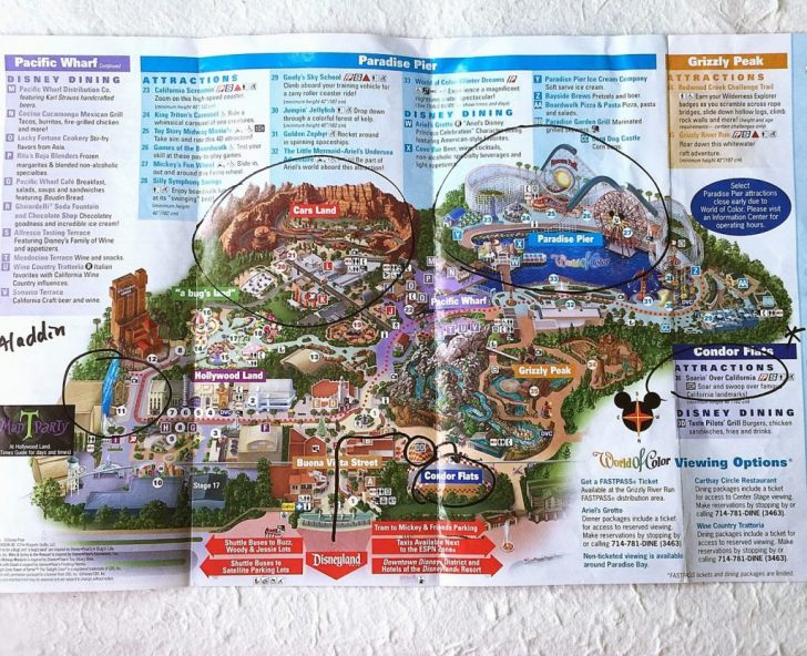 California Adventure Map 2017 Pdf