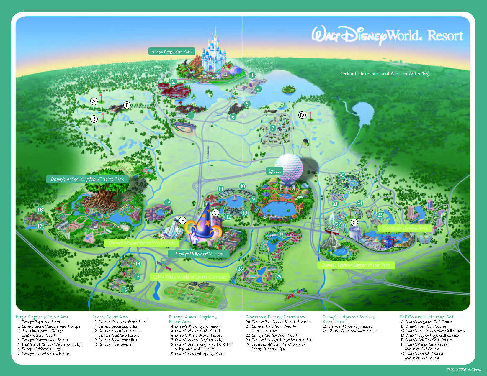 Disney World Florida Map From Adessosolutions 1 - Ameliabd - Florida Map Hotels