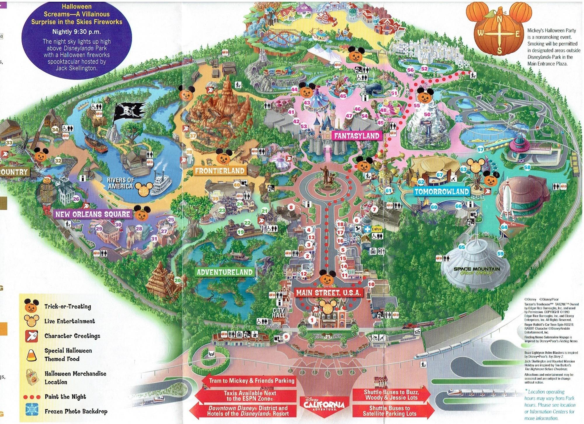 Disney World Florida Map - Mobilacomanda - Disney Parks Florida Map