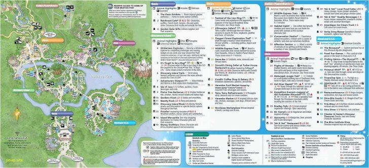 Printable Disney World Maps 2017
