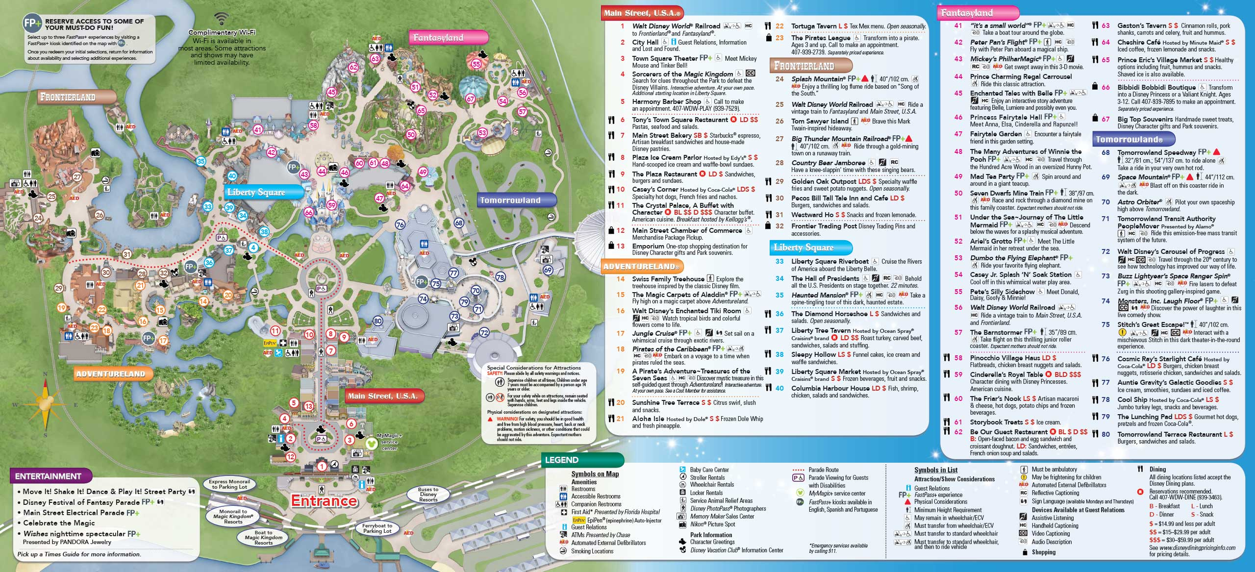 Disney World Theme Park Maps 2017 Google Map Disney World Orlando - Google Maps Orlando Florida