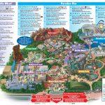 Disneyland Park Map In California, Map Of Disneyland   California Adventure Map 2017 Pdf