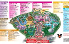 Disneyland Park Map In California, Map Of Disneyland – California Adventure Map Pdf