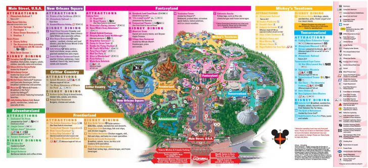 California Adventure Map Pdf