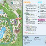 Disney's Blizzard Beach Water Park Map   Printable Disney World Maps 2017
