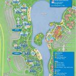 Disney's Caribbean Beach Resort Map   Wdwinfo   Florida Resorts Map
