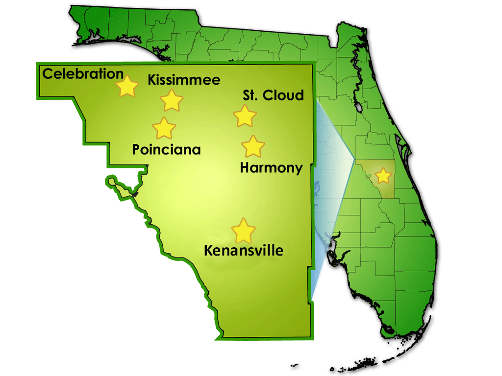 District Facts/stats - School District Of Osceola County - Map Of Osceola County Florida