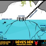 Diving Into The Den Of The Devil | Dive Buddies For Life   Devil's Den Florida Map