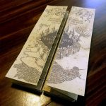 Diy Harry Potter Marauders Map Tutorial And Printable From   Marauders Map Printable