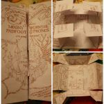 Diy: The Marauder's Map (This Is So Much Better Than The Other Diy   Marauders Map Printable