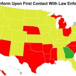 Do You Have A Duty To Inform When Carrying Concealed? We Look At All   Florida Concealed Carry States Map