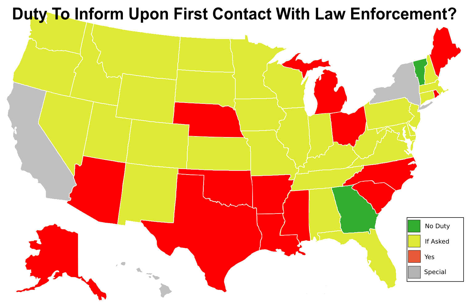 Do You Have A Duty To Inform When Carrying Concealed? We Look At All - Florida Concealed Carry States Map