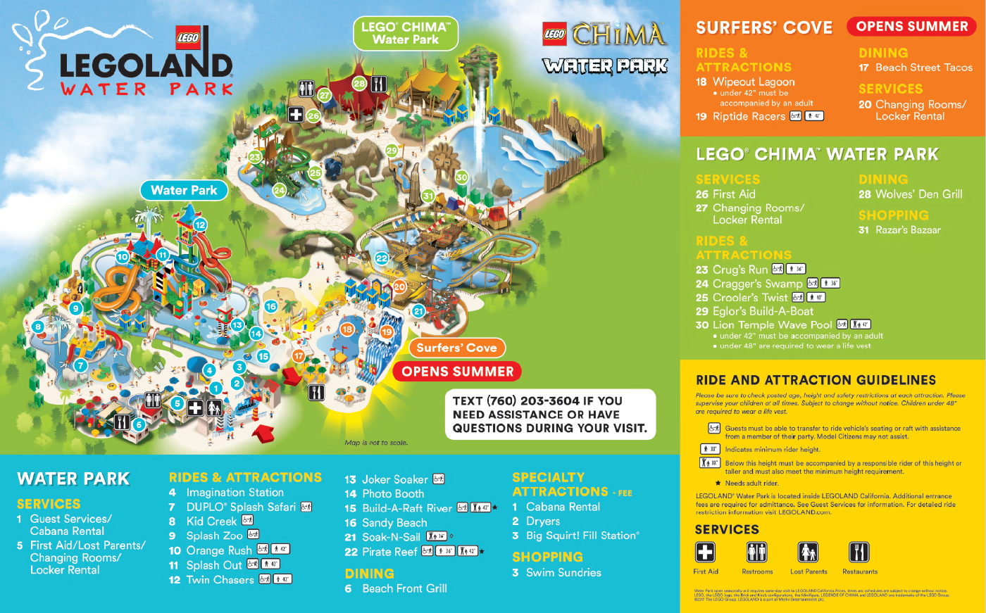 Do You Have A Map Of The Water Park? – Legoland® California Theme - Legoland Florida Hotel Map