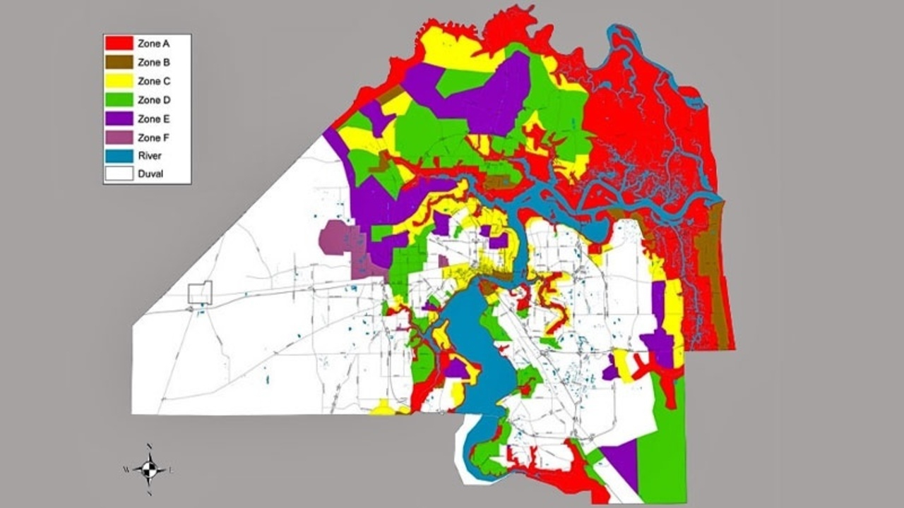 Do You Live In A Flooding, Evacuation Zone? - Florida Flood Zone Map