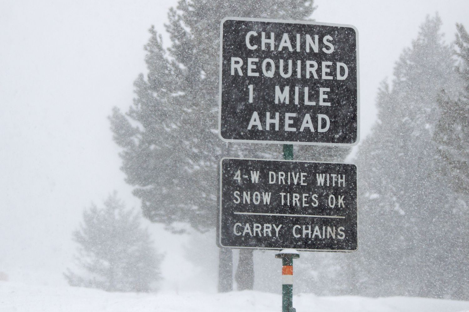 Do You Need Snow Chains In California? Laws And Advice - California Chain Control Map