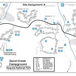 Dorst Creek Campground   Sequoia & Kings Canyon National Parks (U.s.   Sequoia Park California Map