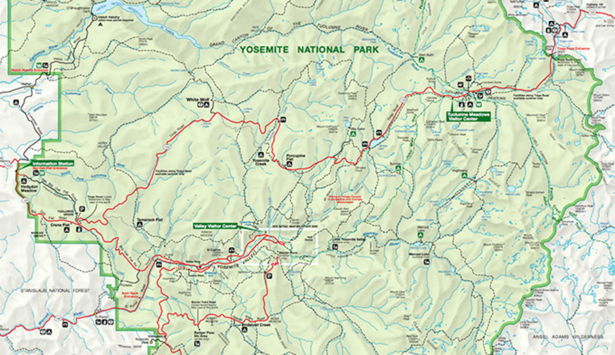 Download The Official Yosemite Park Map Pdf - My Yosemite Park - Yosemite National Park California Map