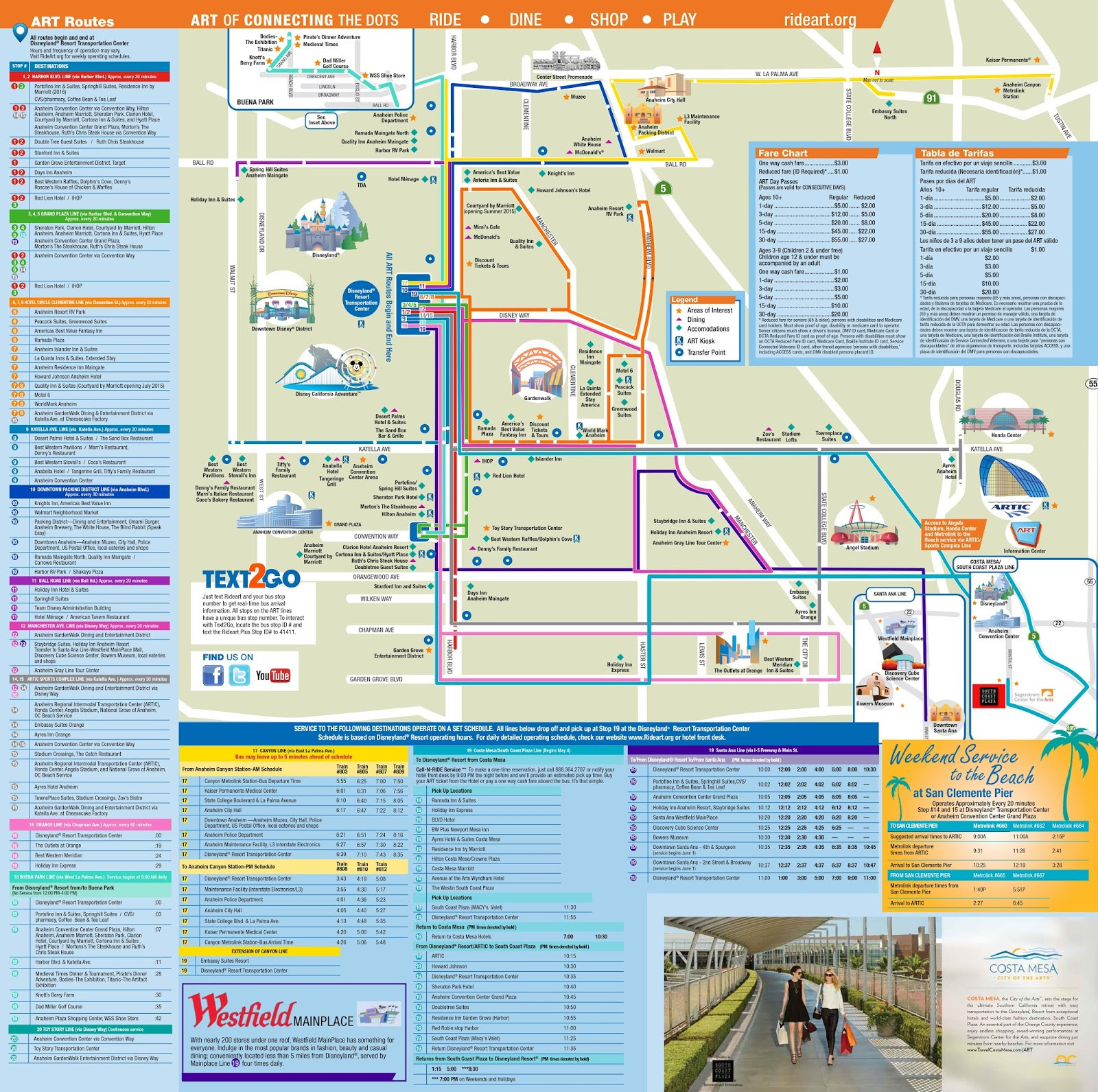 Downtown Disney Map California New Map Around Disneyland - Map Of Hotels Around Disneyland California