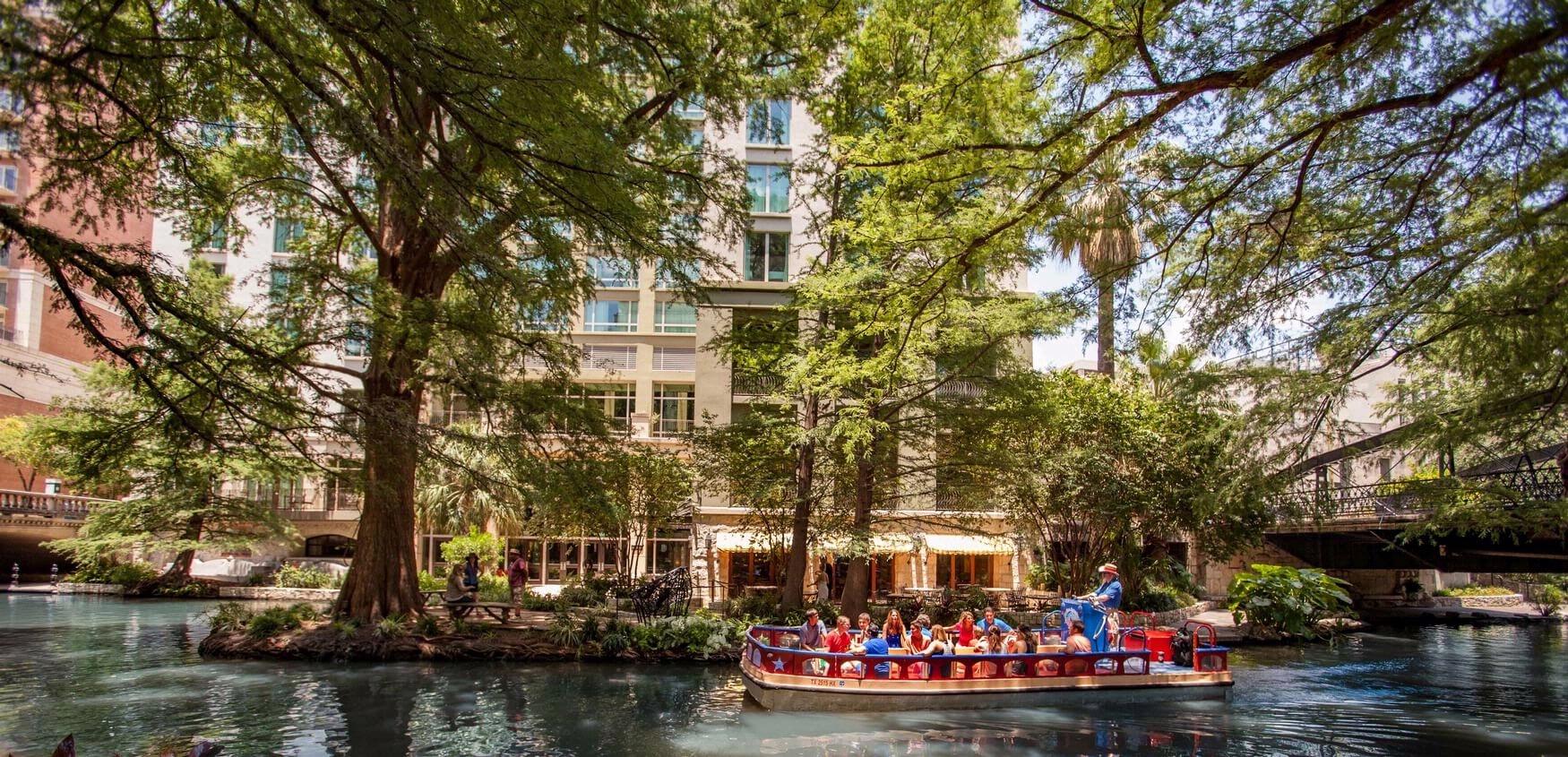 Downtown San Antonio Hotel | Hotel Contessa - Map Of Hotels Near Riverwalk In San Antonio Texas