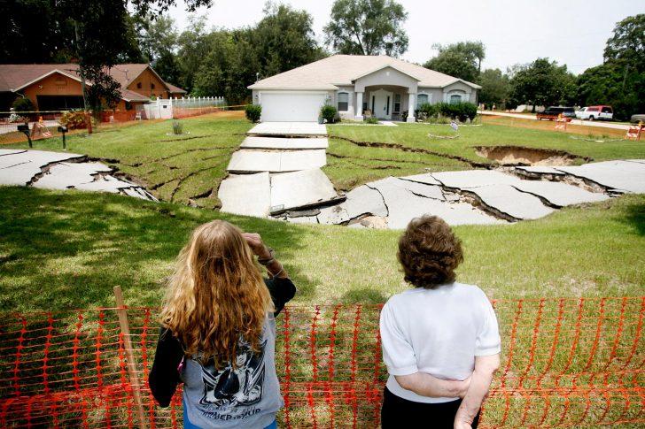 Sinkhole Map Hernando County Florida