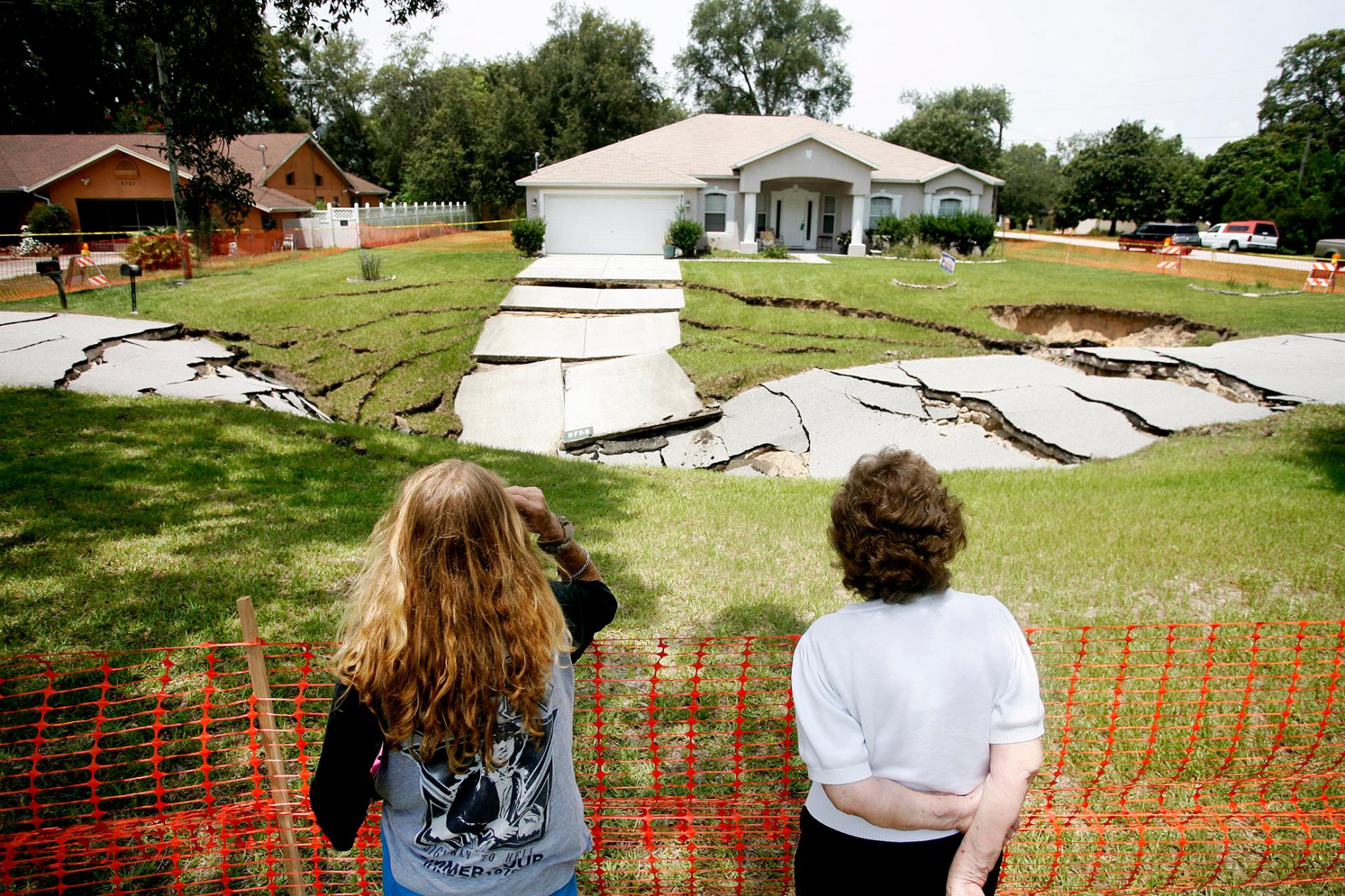 Dramatic Pictures Of Recent Sinkholes Reveal Hazards Lurking Below - Sinkhole Map Hernando County Florida