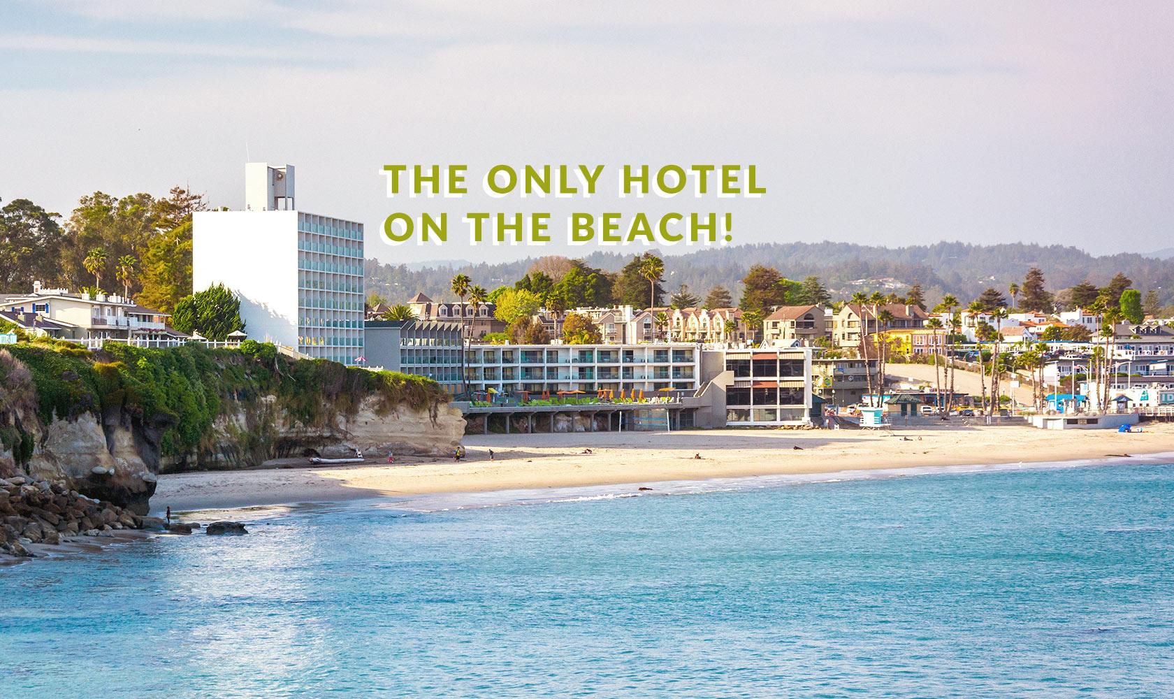 Dream Inn Santa Cruz | Homepage | Santa Cruz Hotels - Spg Hotels California Map