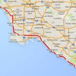 Drive The Pacific Coast Highway In Southern California   California Coastal Highway Map