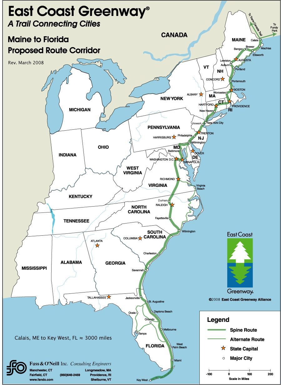 Driving Map Of East Coast   26: Some Of The Benefits To Having A - Printable Map Of Maine Coast