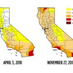 Drought Map Shows Recent Storm Has Not Helped Conditions In   California Drought Map