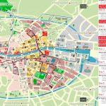 Dublin Map   Hop On Hop Off Bus Map Of Dublin City Sightseeing Tour   Dublin Tourist Map Printable