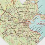 Dublin Map Location Heart Printbombus | Notonthehighstreet   Printable Map Of Dublin